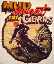 70's Enduro Dirt Motor Bike Mud Gears Motorcycle motocross vTg t-shirt iron-on