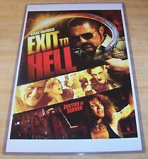 Exit to Hell 11X17 Movie Poster Kane Hodder