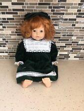 Vintage Gotz Doll 18' Adorable Original Outfit Gorgeous Red Hair Mint Condition!