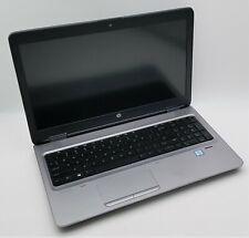 """HP 15.6"""" ProBook 650 G2 i7-6600U 2.60GHz 8GB DDR4 RAM 256GB NVMe SSD Win10 FHD"""