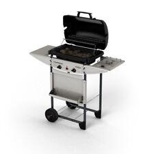 Barbecue a gas pietra lavica in acciaio con fornello Campingaz Expert Deluxe