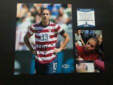 Alex Morgan Hot! signed autographed USA soccer sexy 8x10 photo Beckett BAS coa