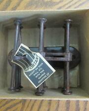 1950's Hollywood Neck Tie Keeper Rack Hanger Scarf Belt Hook Holder Box