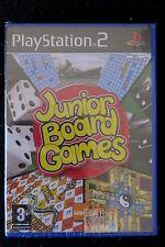 PS2 : JUNIOR BOARD GAMES - Nuovo, risigillato, ITA ! Giochi classici per tutti !