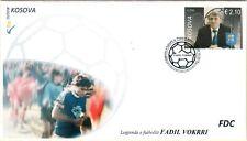 Kosovo Stamps 2018. The football Legend - Fadil Vokrri. FDC Set MNH