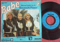 "Babe / (Never Listen To A) Bouzouki Player / Break Away 7"" Single Vinyl 1979"