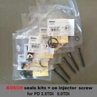 PD injector repair kit + 5 oe screws bolts VW Transporter T5 Multivan 2.5TDI