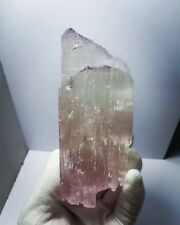 Kunzite Natural Terminated Outstanding 533 Gram Crystal From Afghanistan