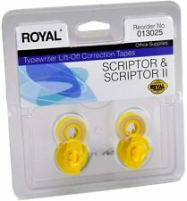 Royal Scriptor Amp Sciptor Ii Typewriter Correction Ribbon Tape 013025