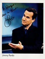 Jimmy Pardo HAND SIGNED 8x10 Photograph! Comedy! Never Not Funny! Race to Escape