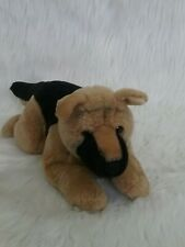 "German Shepherd Dog 17"" Plush Velvety Stuffed Animal"