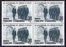 Andorra SP 1981 MNH BLK, Military Forces