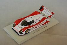 Spark S2364 - TOYOTA TS 010 n°7 Le Mans 1992 Lees- Brabham- Katayama 1/43