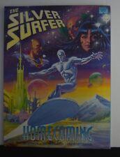 Silver Surfer: Homecoming (Marvel, 1991 1st Printing) Jim Starling Graphic Novel