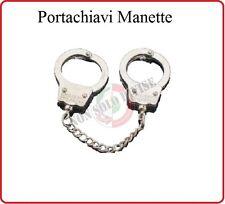Portachiavi a Forma di Manette Carabinieri Polizia Guardia di Finanza Art.251430