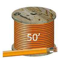 "10/2 NM/B (50') ""ROMEX"" Non-Metallic Jacket, Copper Electrical Cable, 3 Wire"