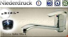 EISL Küchenarmatur CULT DOLCE VITA 2 Niederdruck Spültisch BAD WC armatur Chrom