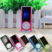 Shiny Clip Mini USB Clip LCD Screen MP3 Music Media Player Support 16GB Micro SD
