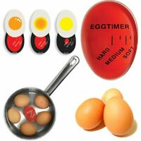 Color Changing Egg Timer Perfect Yummy Soft Hard Boiled Eggs Cooking Kitchen