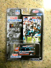DAN MARINO / DOLPHINS FLEER NFL TEAM COLLECTIBLE DIE CAST CAR & COLLECTOR CARD