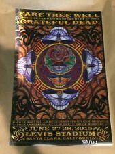 Grateful Dead Fare Thee Well GD50 Poster Art Print Michael Everett 3D Lenticular