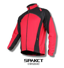 Spakct Fleece Thermal Jersey Cycling Jacket Red XL CSY203C Unisex Adults