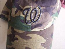 Washington Nationals MLB Baseball Hat Cap Camoflage M