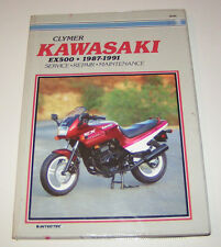 Kawasaki EX 500 - Owners Workshop Manual - 1987 to 1991!