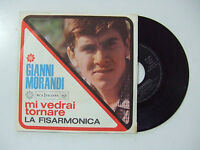Gianni Morandi - Mi Vedrai Tornare / La Fisarmoica -Disco Vinile 45 ITALIA 1966