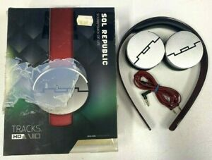 Sol Republic Soundtrack Of Life Hd - Headphones - RED & GREY - BIDS FROM $1