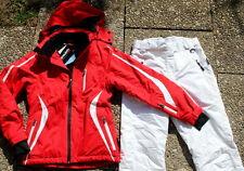 Skianzug hochfunktionell  40  high performance wassersäule 20000 weiß rot