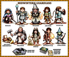 District miniaturas Midwinters Guardianes Conjunto (Kickstarter Set)