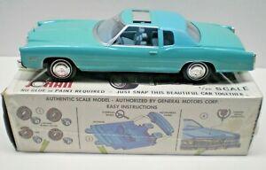 VINTAGE JO-HAN 1976 Cadillac Eldorado 1/25 Hardtop kit CS-501 1/25 SCALE