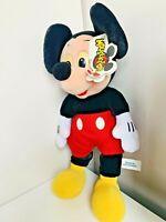 "Walt Disney World Disneyland Mickey Mouse Mouseketoys Plush Toy 16"" Tall"