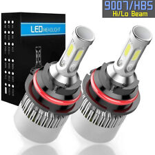 9007 HB5 LED Headlight Conversion Kit 1700W 255000LM HI-LO Dual Beam Bulbs 6000K