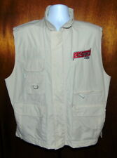 Field & Stream Khaki Outdoor Multi Pocket Fishing Vest XL NWT