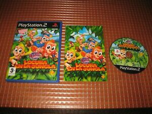 PS2 BUZZ JUNIOR LOCURA EN LA JUNGLA PAL ESPAÑA COMPLETO PLAYSTATION 2 SONY