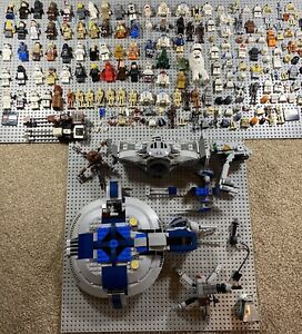 LEGO STAR WARS FIGURE BUNDLE LARGE!!