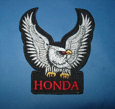 `HONDA BIKER` SEW OR IRON ON PATCH