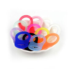 5 Pcs Baby Silicone Button Ring Dummy Pacifier Holder Adapter Clip KS