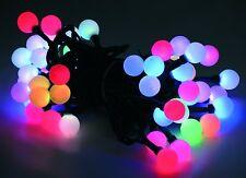 50 cadena de luces LED 8 Programas Efecto fiesta Cambio color