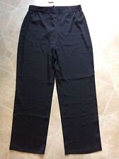 CHRISTIAN SIRIANO womens lightweight soft dress pants BLACK - sz Small