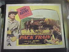PACK TRAIN, orig 1953 LC [Gene Autrey]