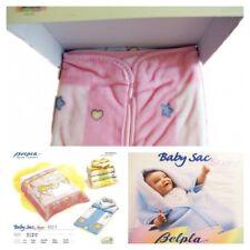 BABY SACCO NEONATO//NEONATA in piumotto con zip Pastello idea corredo BS11