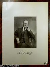Antique Print 1912 THOMAS A. TRIPP Fairhaven, MA Massachusetts