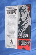 HELLBOY Bookmark w/Art by Mike Mignola ~2008 Hellboy Day Promo Ticket