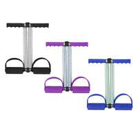 Zugseil für Bodybuilding AGZHU Pedal-Trainer //Neu Fitness Fußpedal 4 Röhren