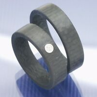 Trauringe   Eheringe   Freundschaftsringe   Hochzeitsringe aus Carbon P7111999
