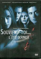 DVD - SOUVIENS TOI L' ETE DERNIER avec RYAN PHILLIPPE, SARAH MICHELLE GELLAR