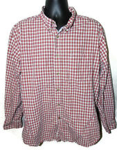 Tommy Hilfiger Button Down Shirt Size XL Long Sleeve Heritage Poplin 80s Two Ply